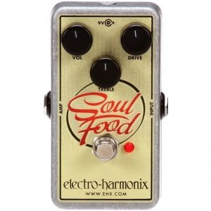 Electro Harmonix Soulfood Distortion Pedal