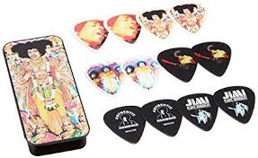 Dunlop Jimi Hendrix Pick Tin Axis Bold As Love Picks