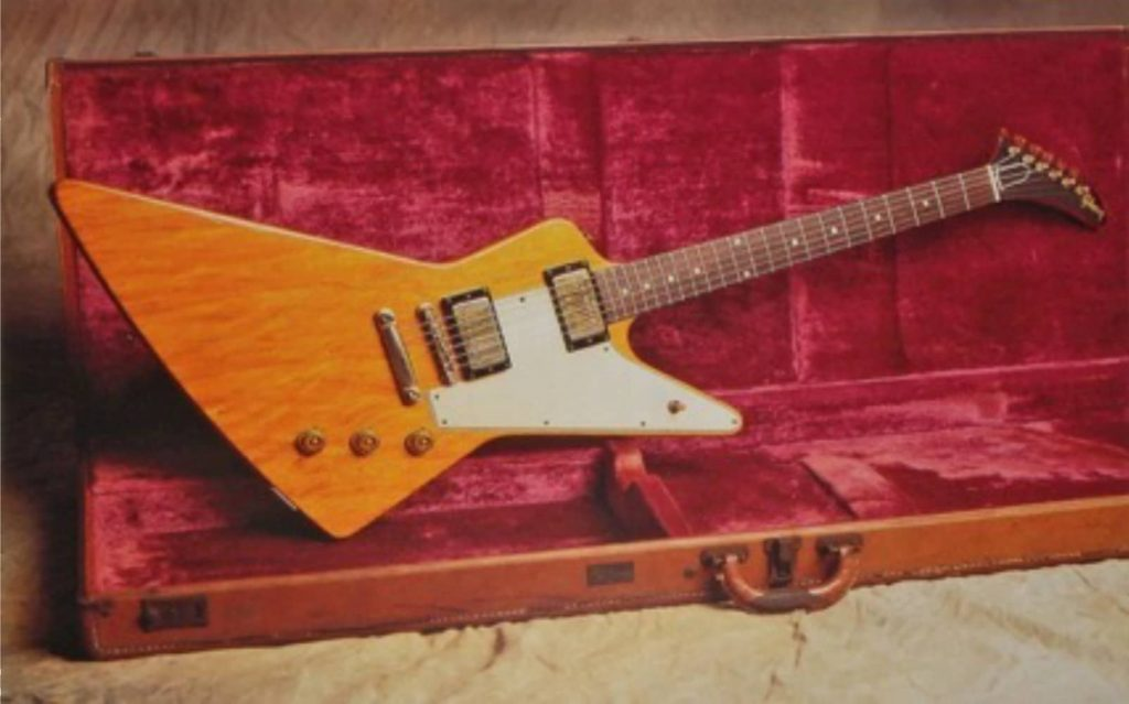 Most Expensive Guitar1958 Gibson Korina Explorer 1958 Gibson Korina Explorer